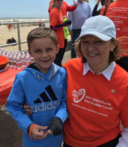 Mary Ann A walks to end bladder cancer in memory of her late husband, Jack.