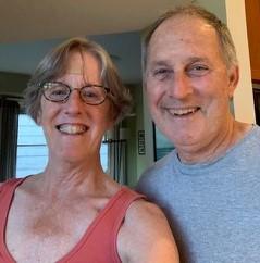 Melanie and her husband